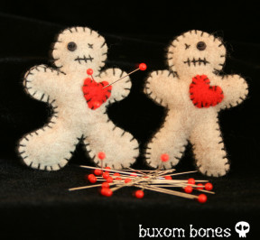 VooDoo Dolly Brooch
