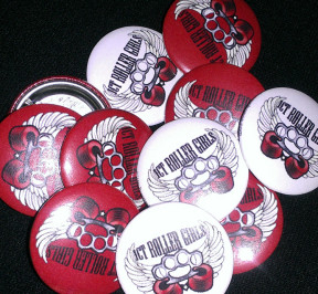 ICT_Roller_Girls_Pinbacks